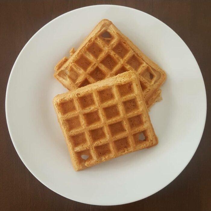 Orange You Vanilla Waffles